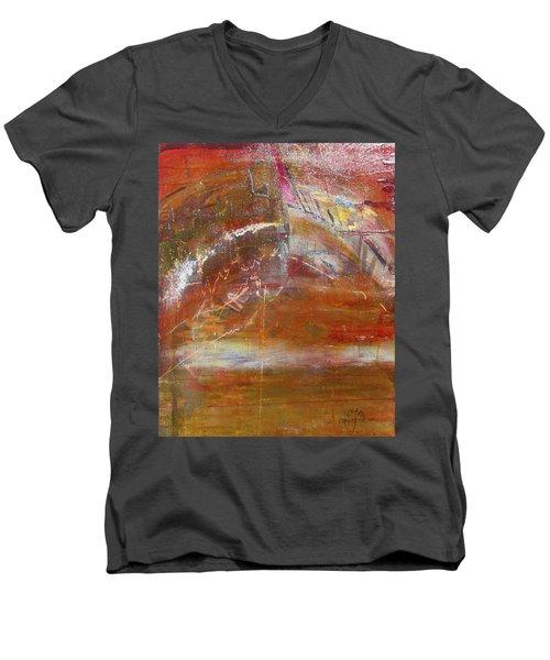 Rusty Rainbow Men's V-Neck T-Shirt