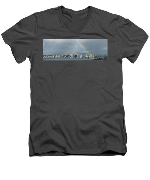 San Diego Men's V-Neck T-Shirt