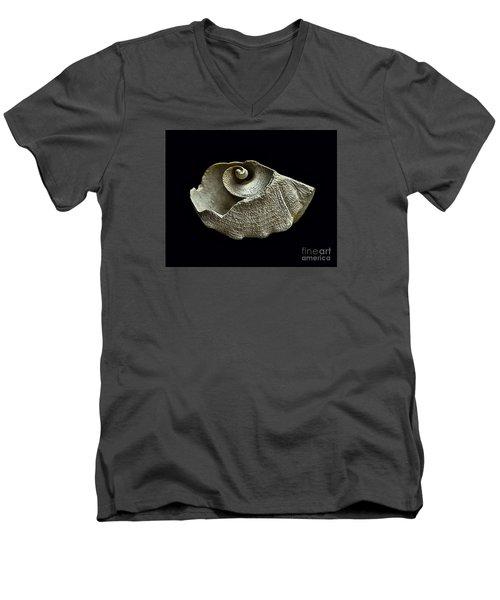 Sea Debris B Men's V-Neck T-Shirt by Walt Foegelle
