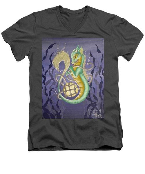 Sea Dragon II Men's V-Neck T-Shirt