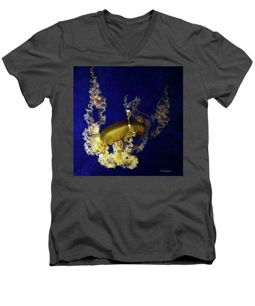 Sea Nettle Jellies Men's V-Neck T-Shirt