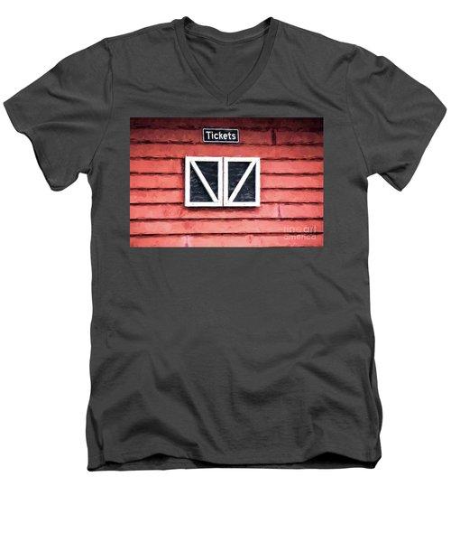 Season's Over Men's V-Neck T-Shirt