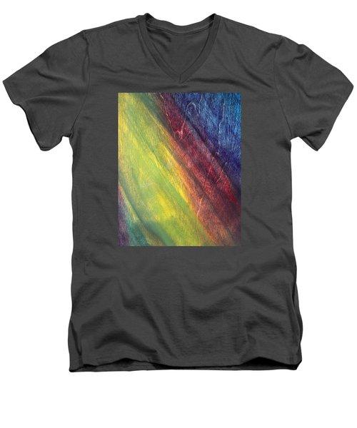 Against The Grain Men's V-Neck T-Shirt