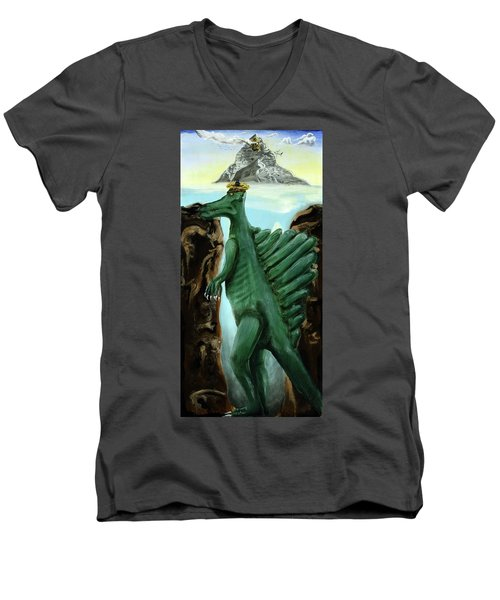 Self-portrait- Meme Men's V-Neck T-Shirt