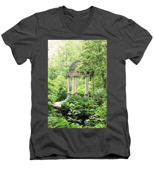 Serenity Garden Men's V-Neck T-Shirt