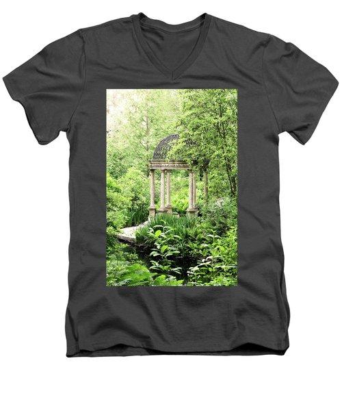 Serenity Garden Men's V-Neck T-Shirt