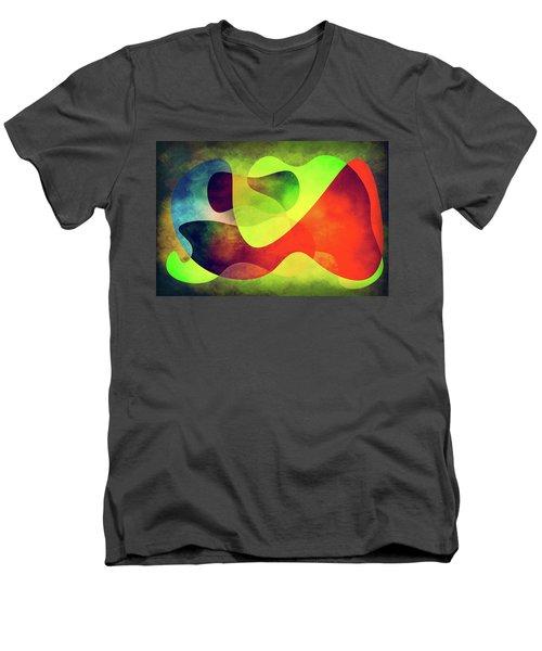 Shapes 3 Men's V-Neck T-Shirt