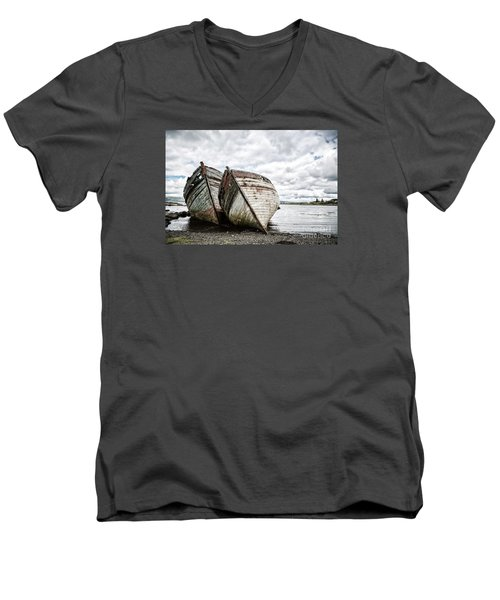 Shipwrecks Men's V-Neck T-Shirt