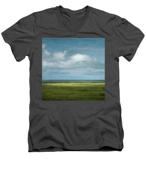 Short Wharf Creek 5 Men's V-Neck T-Shirt
