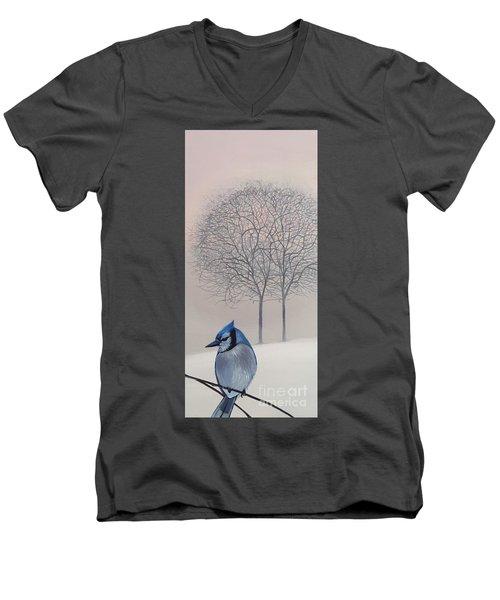 Silent Snow Men's V-Neck T-Shirt