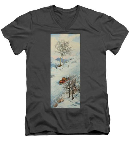 Sisters Solstice Men's V-Neck T-Shirt