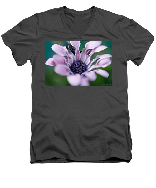 Soft Purple Men's V-Neck T-Shirt