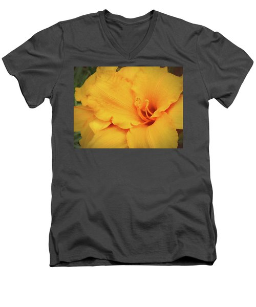 Softly And Tenderly  Men's V-Neck T-Shirt