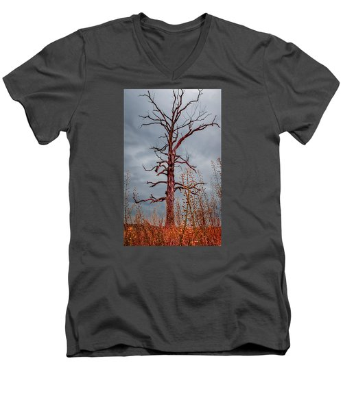 Ominous Men's V-Neck T-Shirt