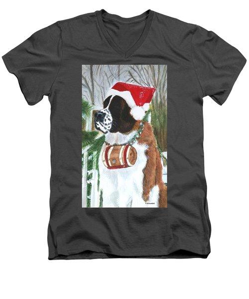 Sonoma To The Rescue Men's V-Neck T-Shirt