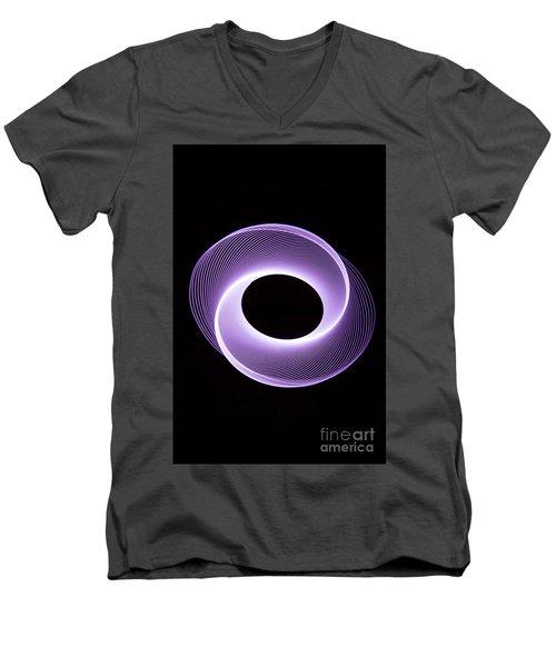 Spirograph Spiral 09 Men's V-Neck T-Shirt