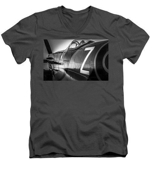 Spitfire Men's V-Neck T-Shirt