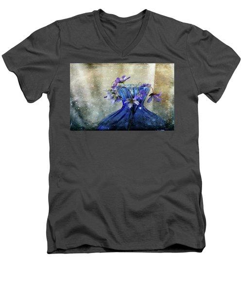 Spring Greeting Men's V-Neck T-Shirt
