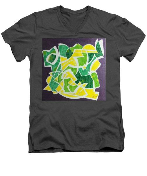 Spring Men's V-Neck T-Shirt by Hang Ho