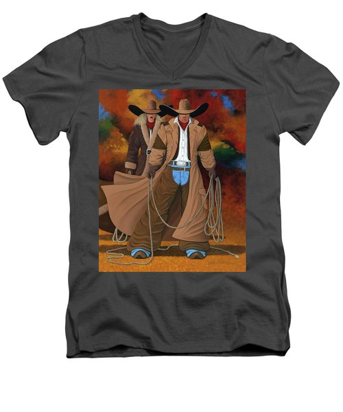 Stand By Your Man Men's V-Neck T-Shirt