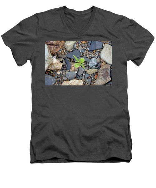 Stand Out From The Crowd Men's V-Neck T-Shirt