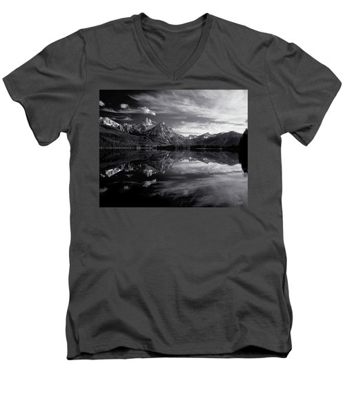 Stanley Lake Men's V-Neck T-Shirt