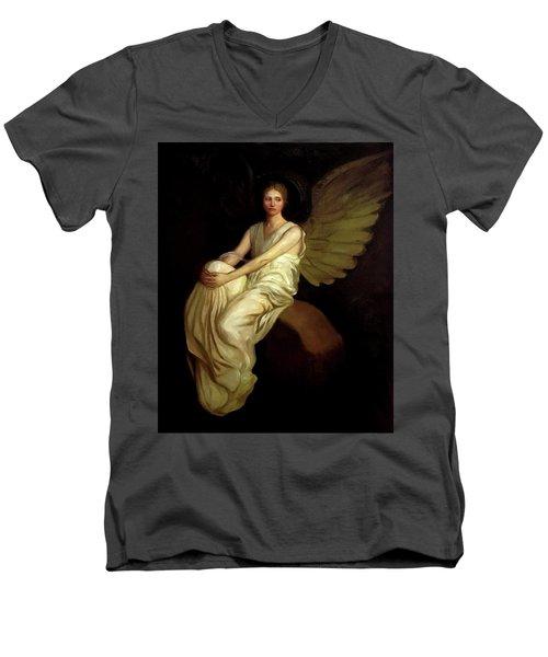Stevenson Memorial Men's V-Neck T-Shirt