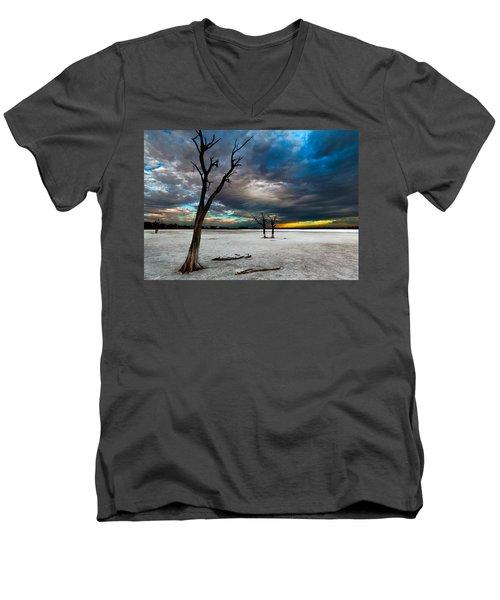 Still Here Men's V-Neck T-Shirt