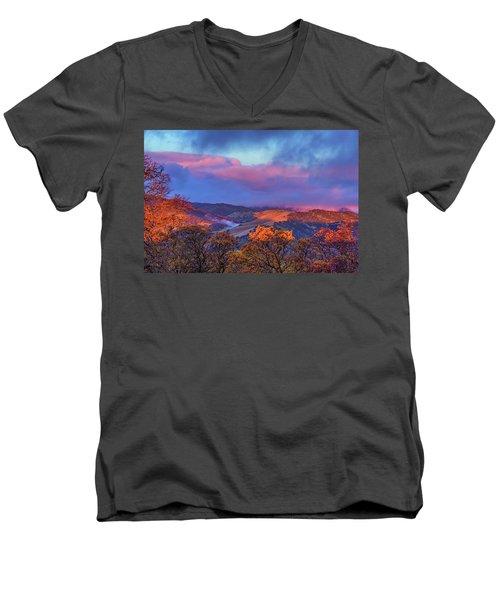 Sunrise Light Men's V-Neck T-Shirt