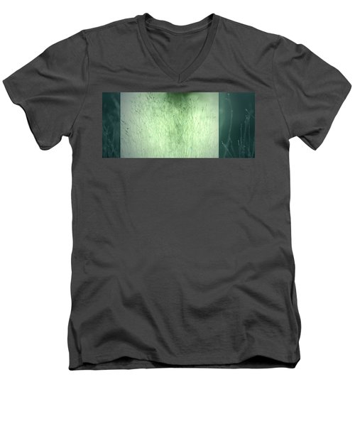 Men's V-Neck T-Shirt featuring the photograph Surface by Mark Ross