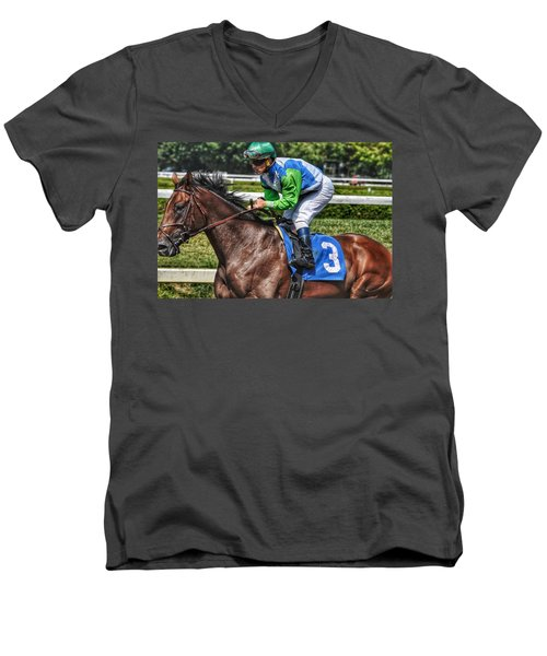 Surprise Twist W Javier Castellano Men's V-Neck T-Shirt