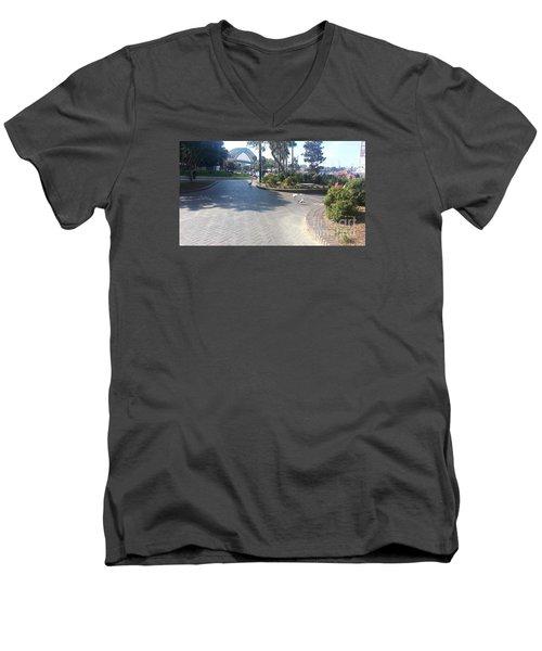 Men's V-Neck T-Shirt featuring the photograph Sydney Harbor Bridge by Bev Conover