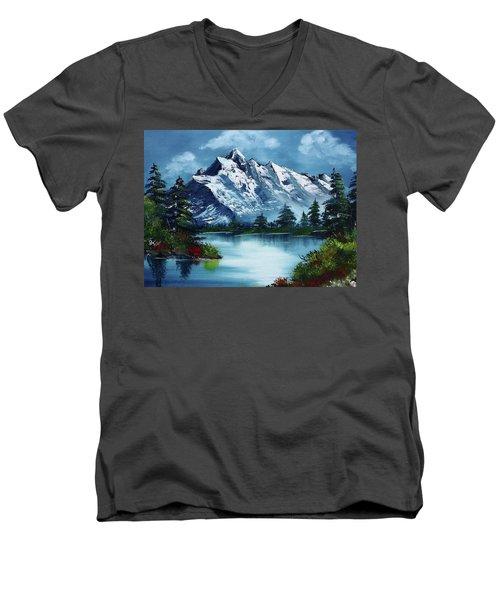 Take A Breath Men's V-Neck T-Shirt