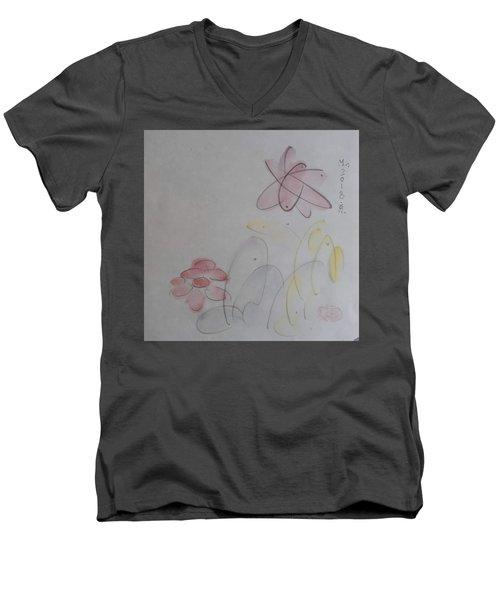 Take It Easy Men's V-Neck T-Shirt