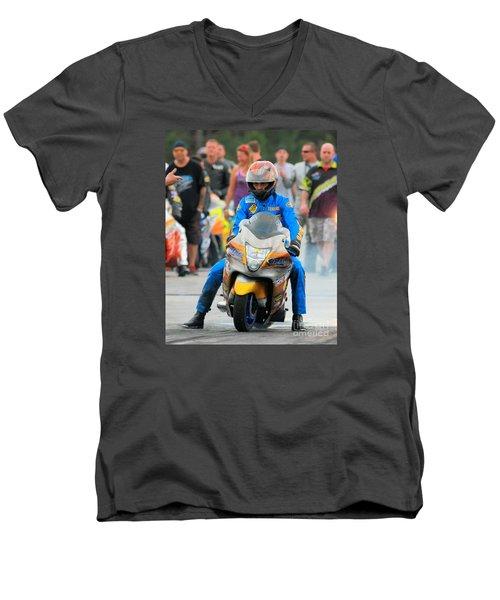 Terence Angela Men's V-Neck T-Shirt