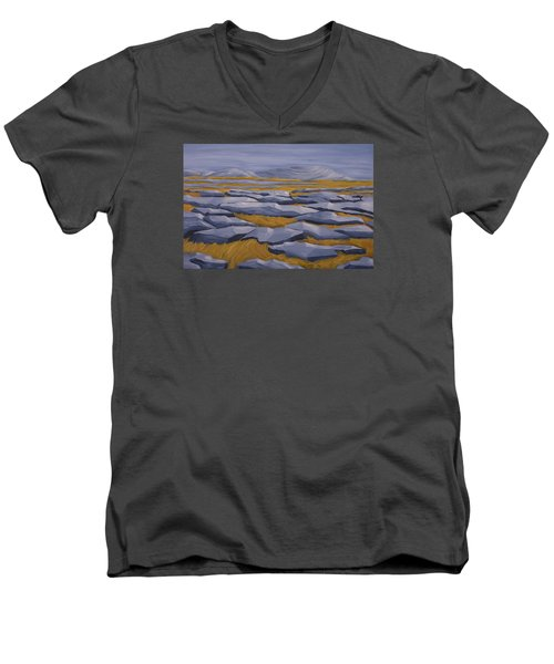 The Burren Men's V-Neck T-Shirt