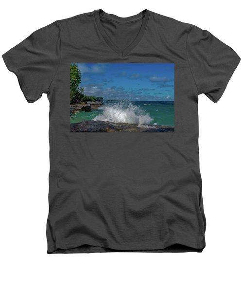 The Coves Men's V-Neck T-Shirt
