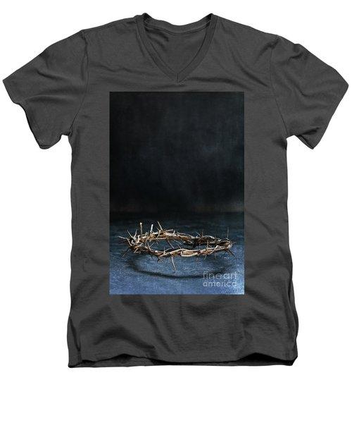 The Crown Of Jesus Christ Men's V-Neck T-Shirt