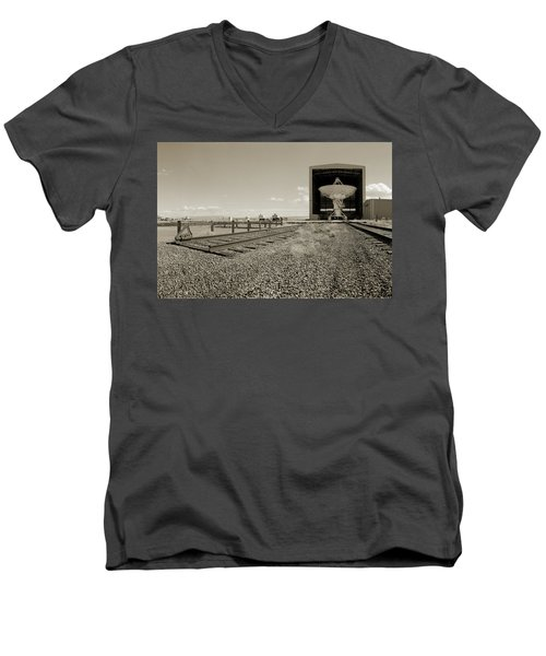 The Dish Room Men's V-Neck T-Shirt by Jan W Faul