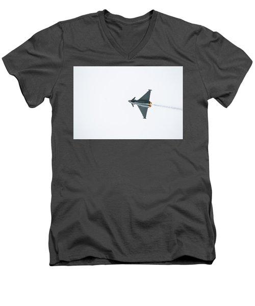 The Eurofighter Typhoon Men's V-Neck T-Shirt
