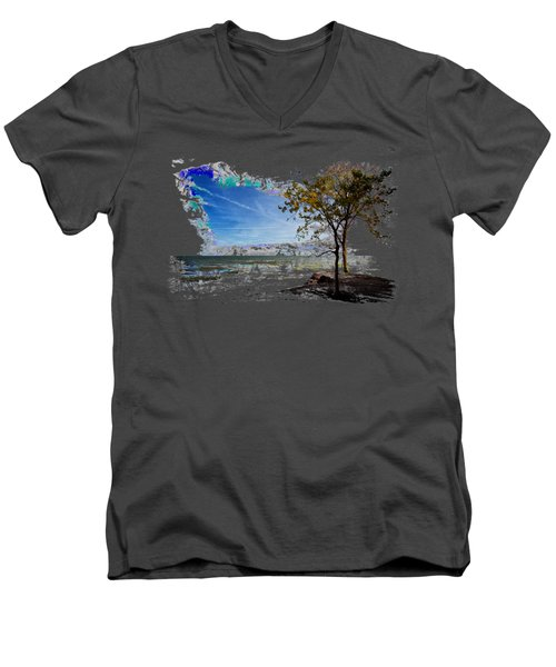 The Great Outdoors Men's V-Neck T-Shirt