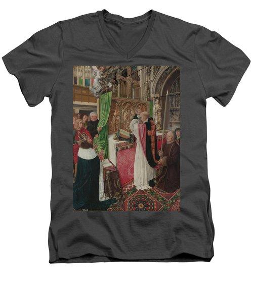The Mass Of Saint Giles Men's V-Neck T-Shirt