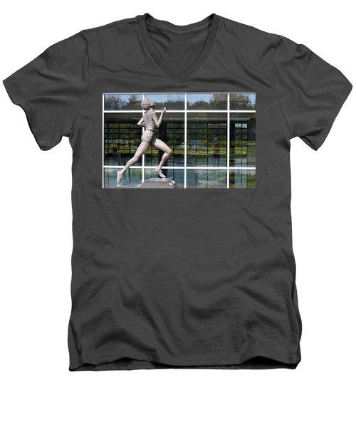 The Runner Men's V-Neck T-Shirt