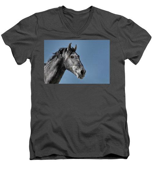The Stallion Men's V-Neck T-Shirt