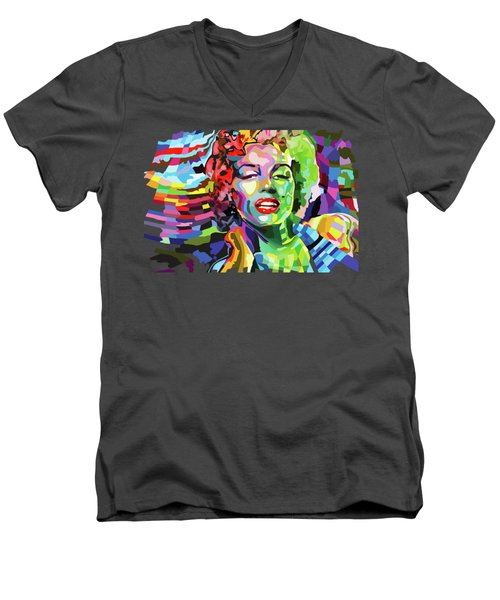 The Timeless Norma Jean Men's V-Neck T-Shirt
