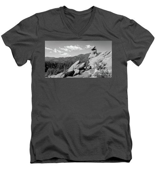 The Valley Below Men's V-Neck T-Shirt