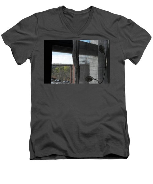 The View From The Window Men's V-Neck T-Shirt