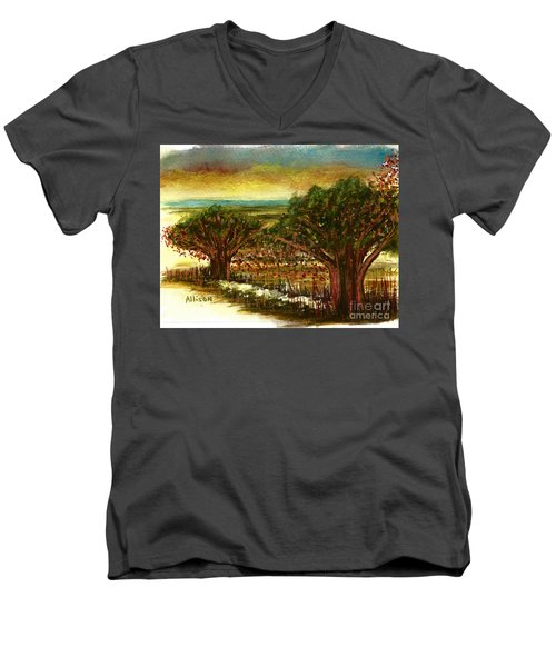 The Voices Of The Wind Men's V-Neck T-Shirt