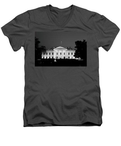 The White House Men's V-Neck T-Shirt