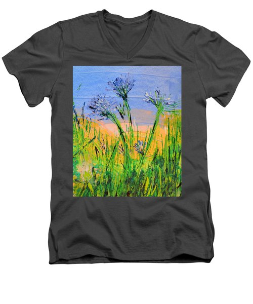 Thistles One Men's V-Neck T-Shirt